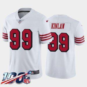 San Francisco 49ers Javon Kinlaw White Jersey